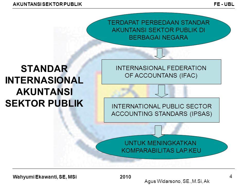 STANDAR INTERNASIONAL AKUNTANSI SEKTOR PUBLIK