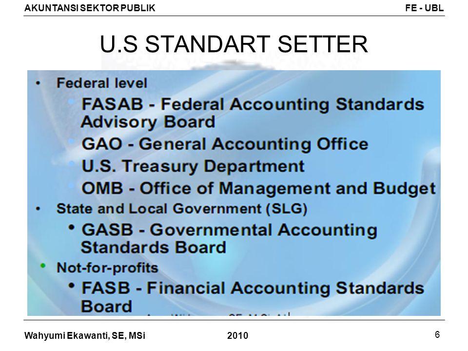 U.S STANDART SETTER 2010