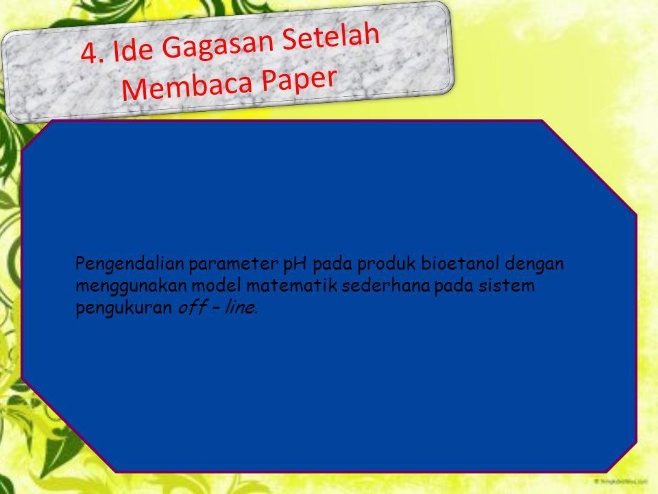 4. Ide Gagasan Setelah Membaca Paper
