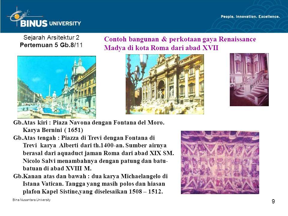 Sejarah Arsitektur 2 Pertemuan 5 Gb.8/11