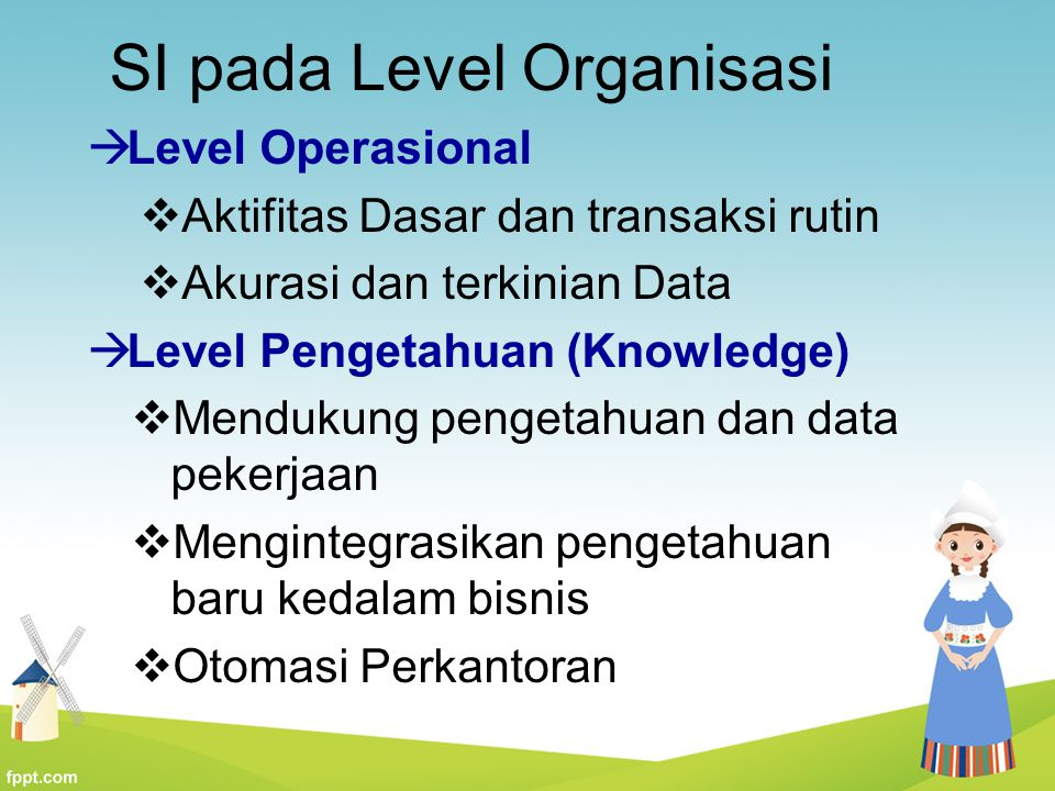 SI pada Level Organisasi