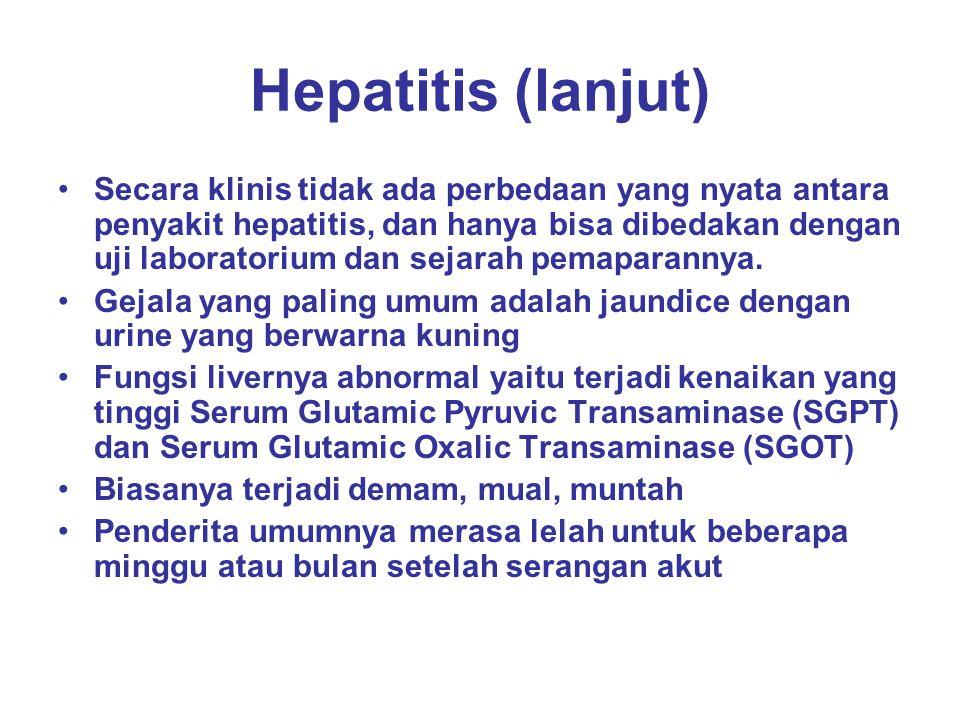 Hepatitis (lanjut)