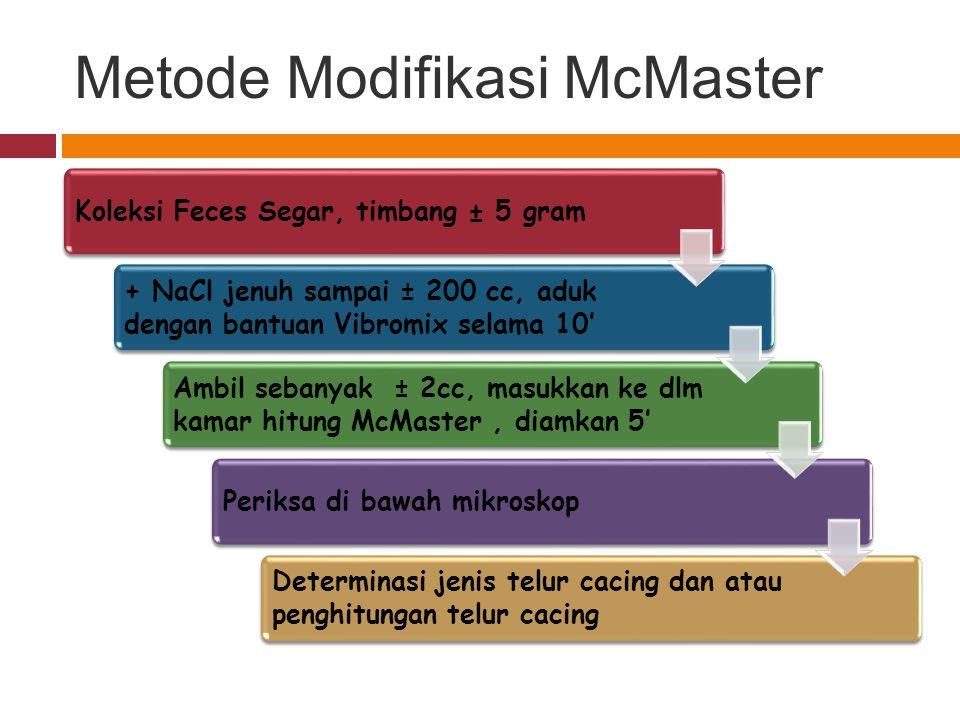 Metode Modifikasi McMaster