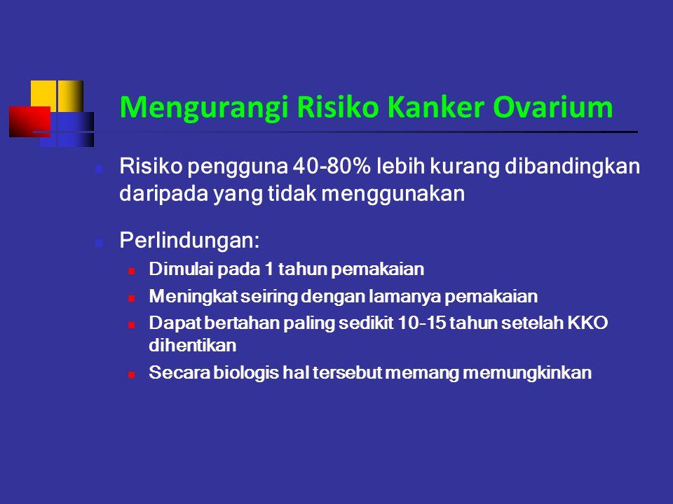 Mengurangi Risiko Kanker Ovarium