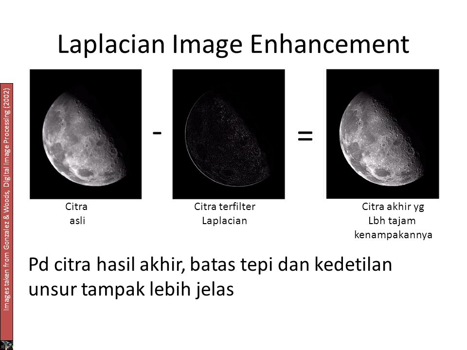 Laplacian Image Enhancement