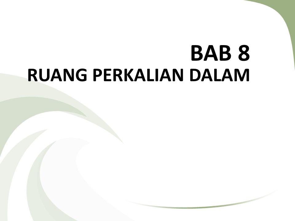 BAB 8 RUANG PERKALIAN DALAM
