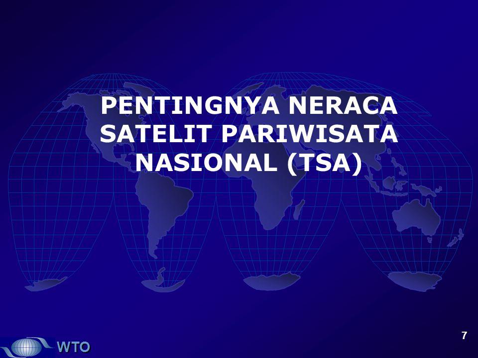 PENTINGNYA NERACA SATELIT PARIWISATA NASIONAL (TSA)