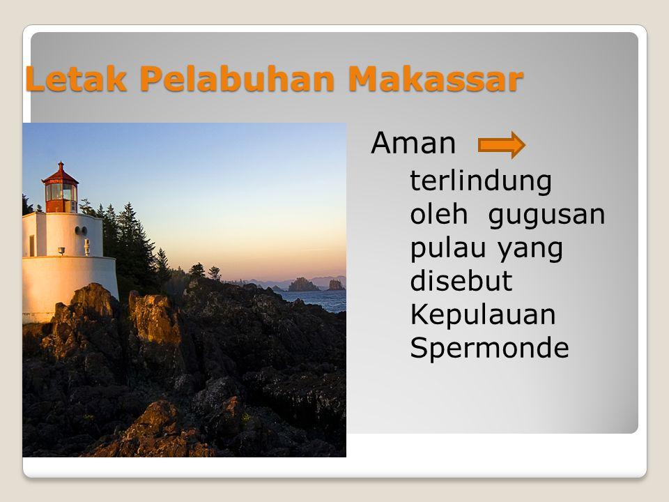 Letak Pelabuhan Makassar