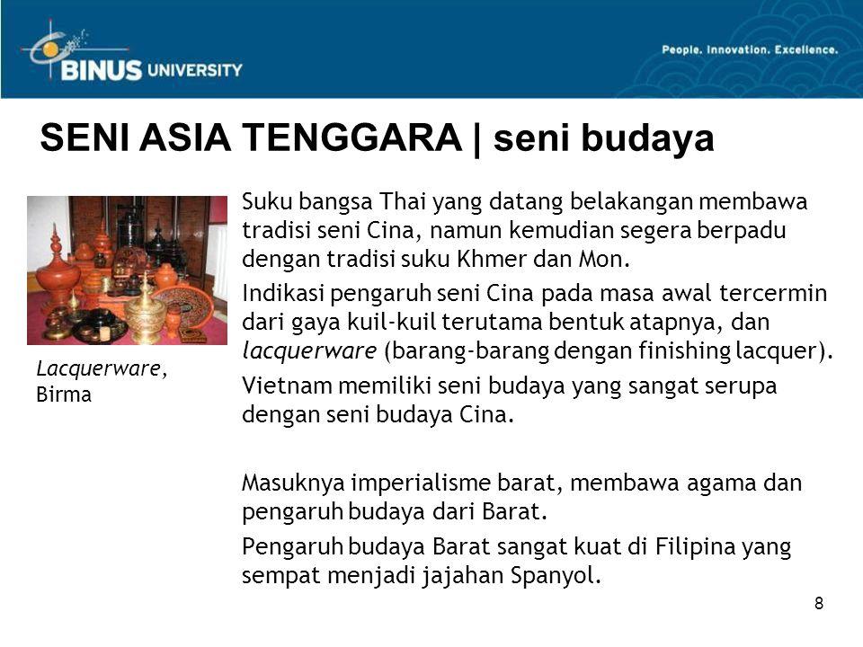 SENI ASIA TENGGARA | seni budaya