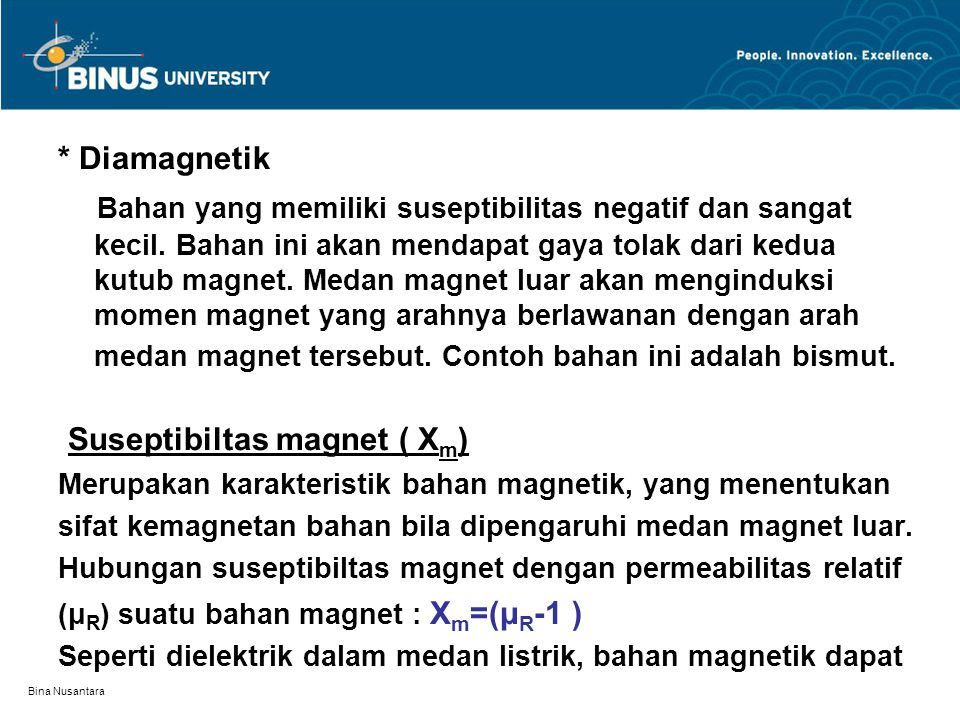 Suseptibiltas magnet ( Xm)