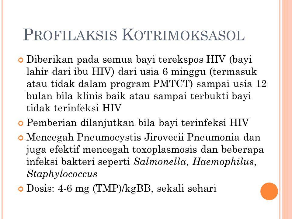 Profilaksis Kotrimoksasol