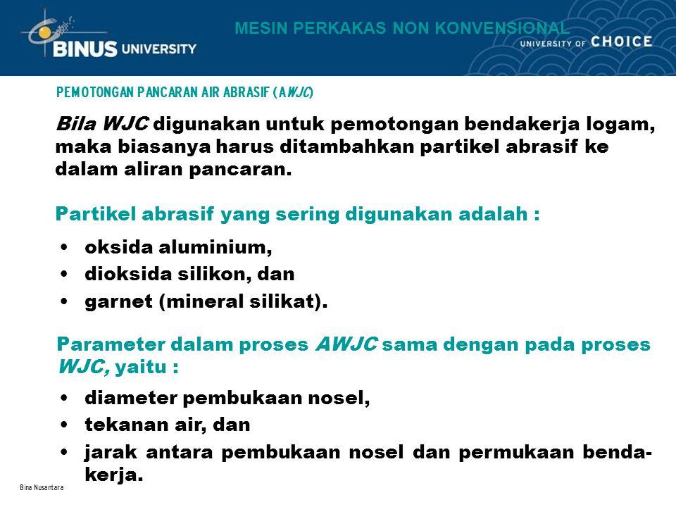 PEMOTONGAN PANCARAN AIR ABRASIF (AWJC)
