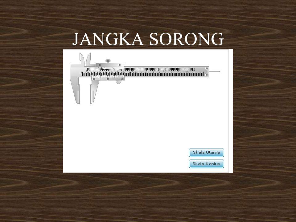 JANGKA SORONG