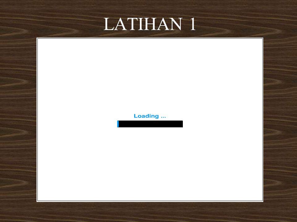 LATIHAN 1