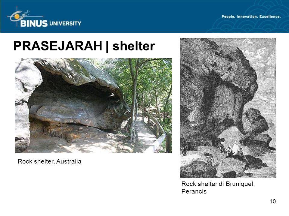 PRASEJARAH | shelter Rock shelter, Australia