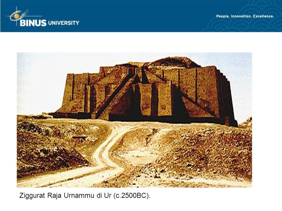 Ziggurat Raja Urnammu di Ur (c.2500BC).