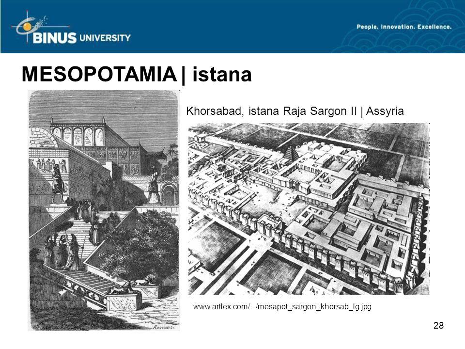 MESOPOTAMIA | istana Khorsabad, istana Raja Sargon II | Assyria 28