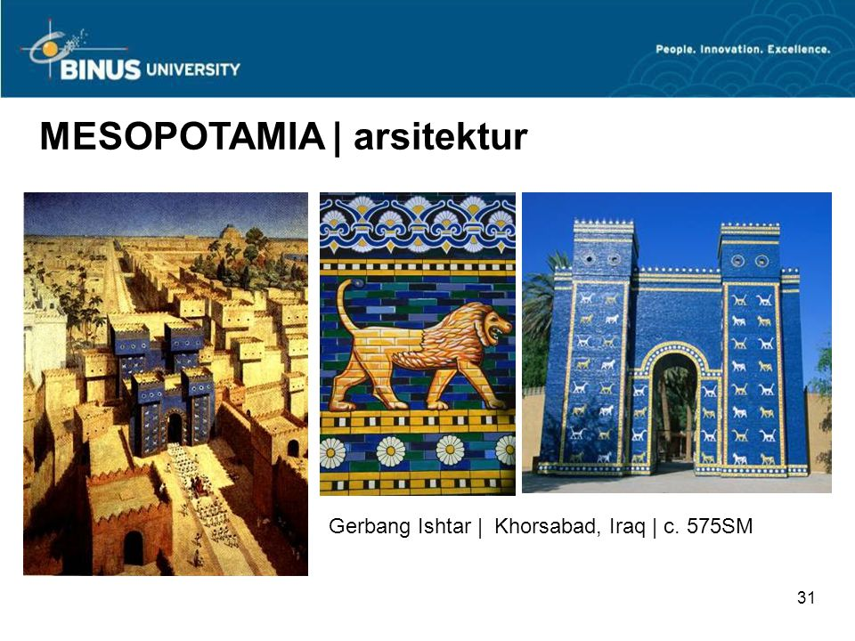 MESOPOTAMIA | arsitektur