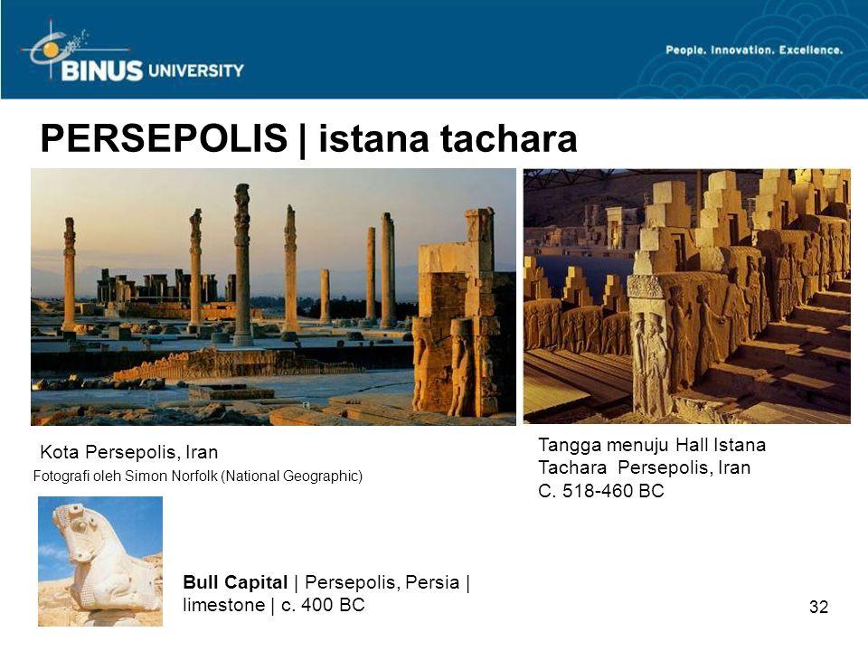 PERSEPOLIS | istana tachara