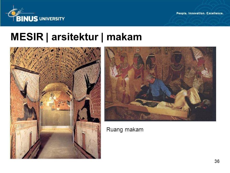 MESIR | arsitektur | makam