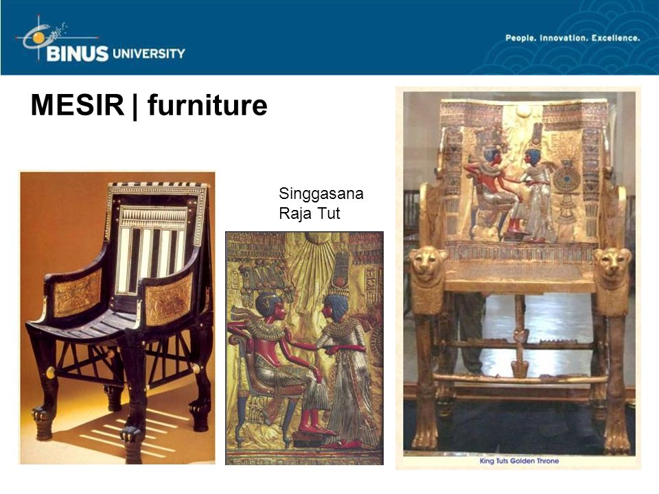 MESIR | furniture Singgasana Raja Tut 40