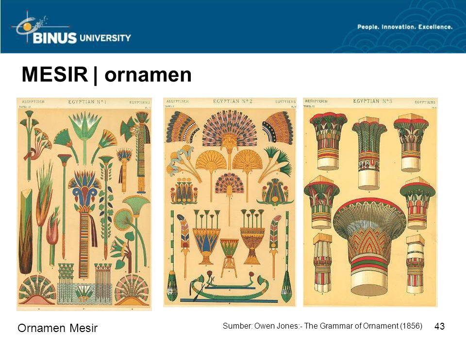 MESIR | ornamen Ornamen Mesir 43