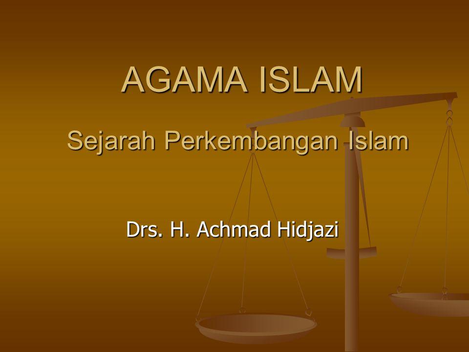 Sejarah Perkembangan Islam