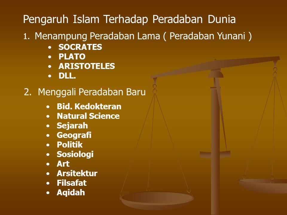 Pengaruh Islam Terhadap Peradaban Dunia