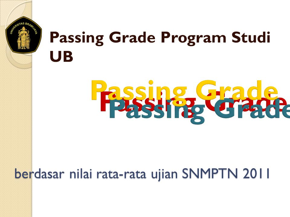 berdasar nilai rata-rata ujian SNMPTN 2011