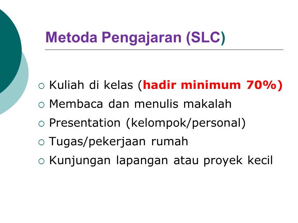 Metoda Pengajaran (SLC)
