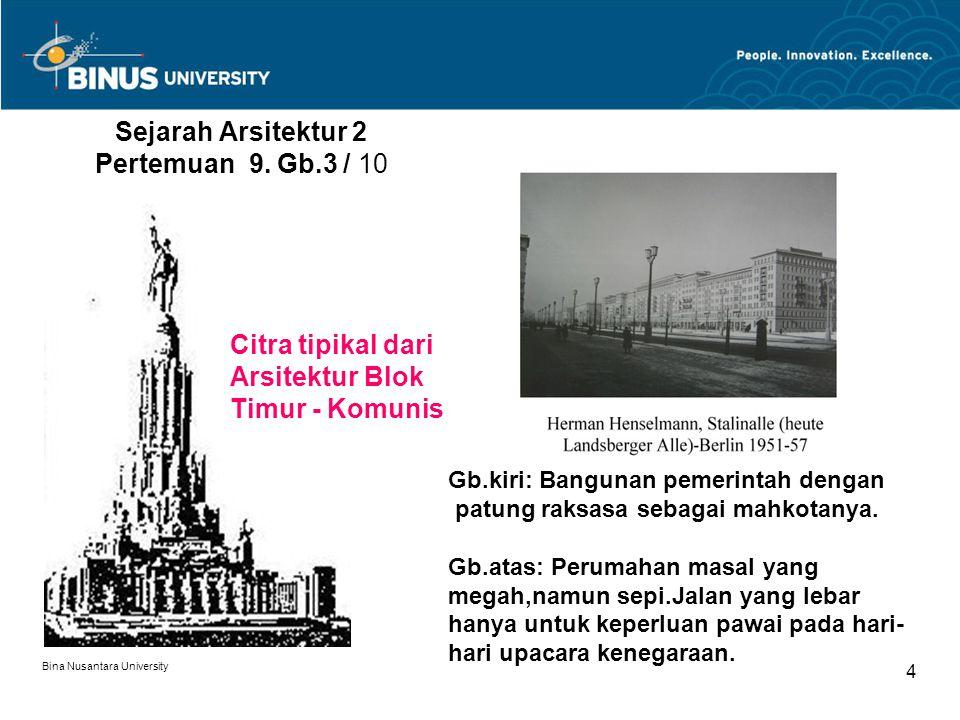 Sejarah Arsitektur 2 Pertemuan 9. Gb.3 / 10