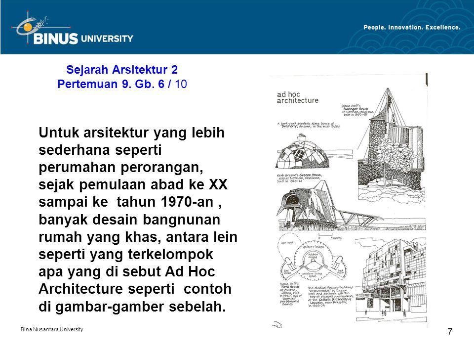Sejarah Arsitektur 2 Pertemuan 9. Gb. 6 / 10