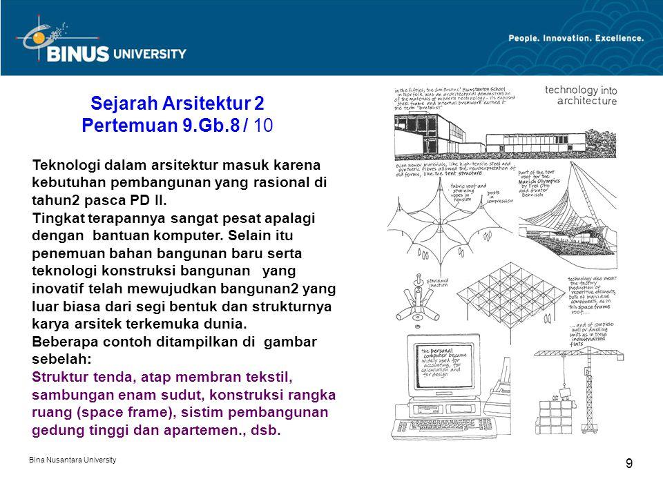 Sejarah Arsitektur 2 Pertemuan 9.Gb.8 / 10