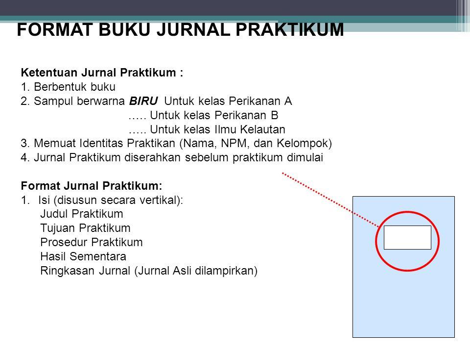 FORMAT BUKU JURNAL PRAKTIKUM