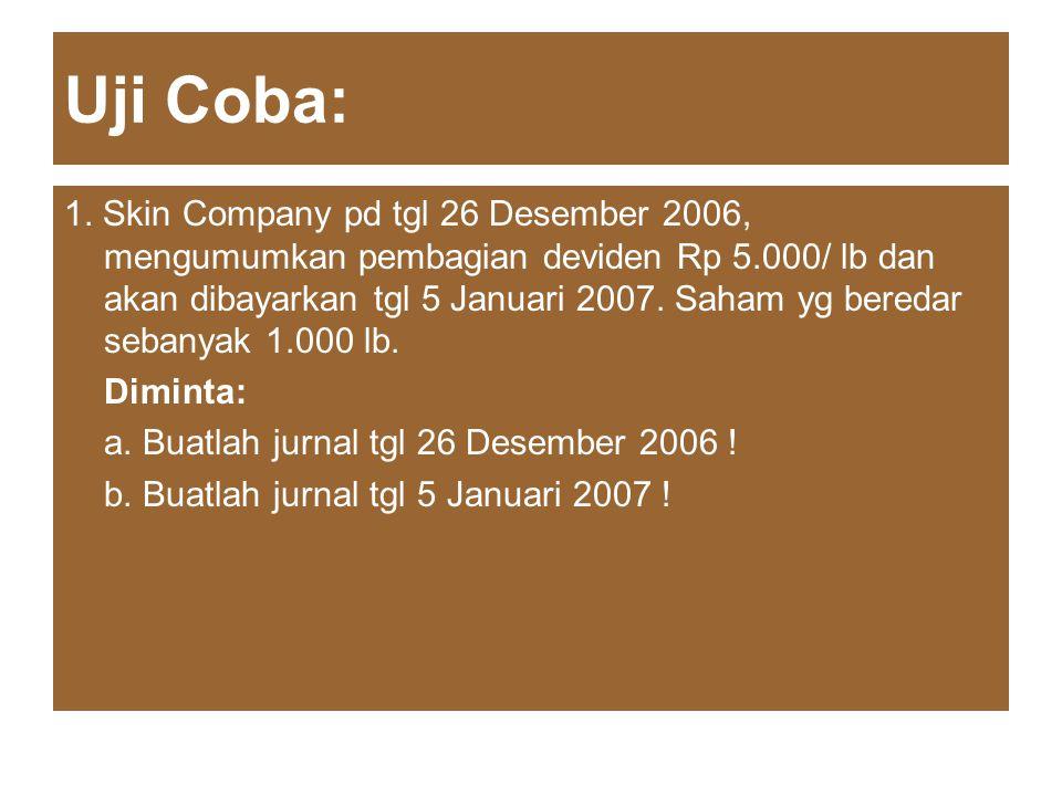 Uji Coba: