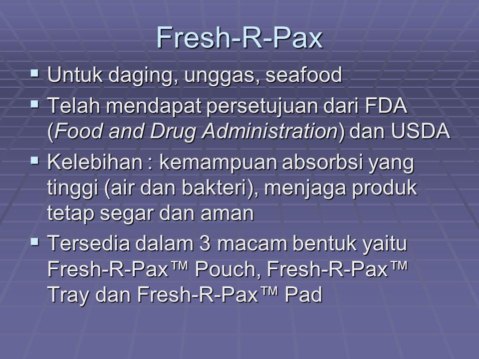 Fresh-R-Pax Untuk daging, unggas, seafood