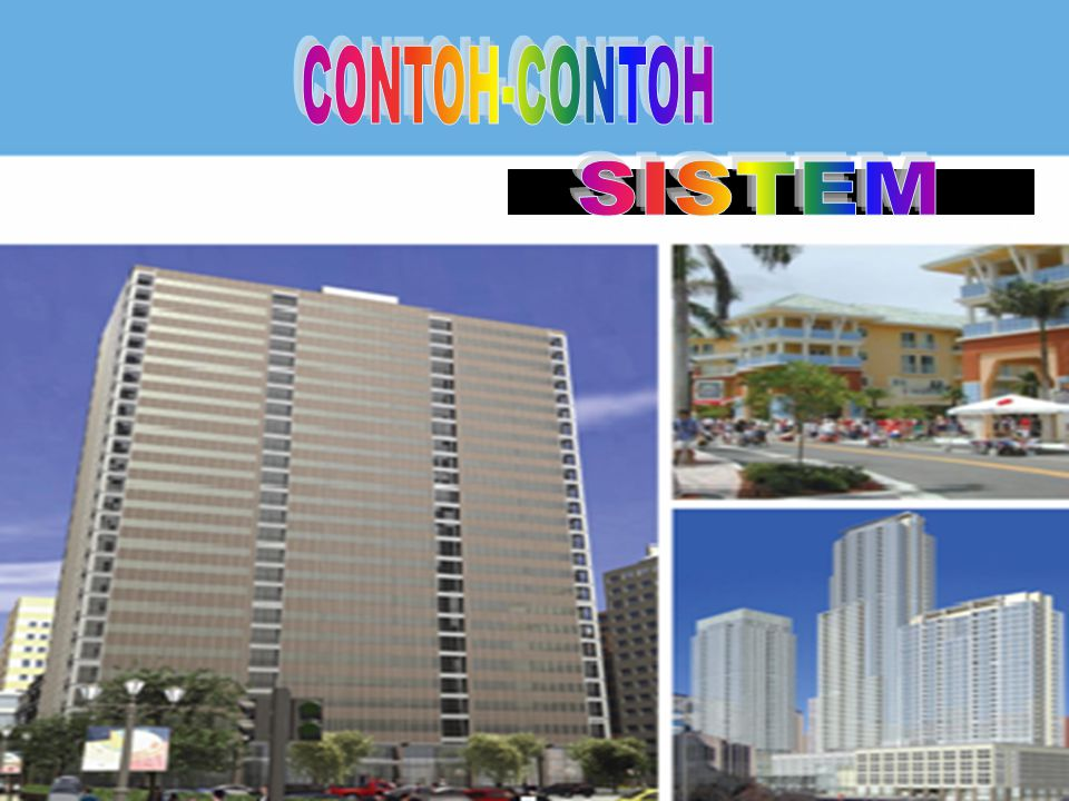 SISTEM CONTOH-CONTOH