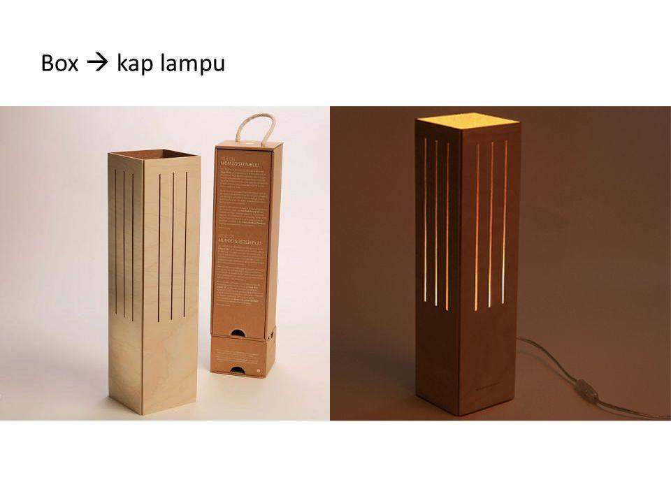 Box  kap lampu