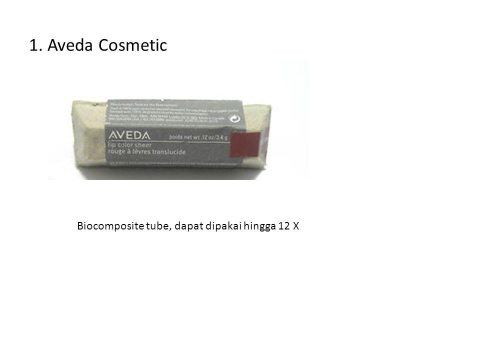 1. Aveda Cosmetic Biocomposite tube, dapat dipakai hingga 12 X