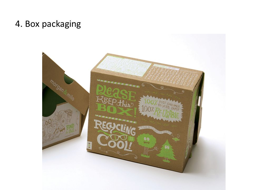 4. Box packaging