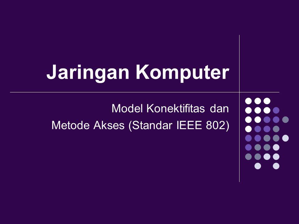 Model Konektifitas dan Metode Akses (Standar IEEE 802)