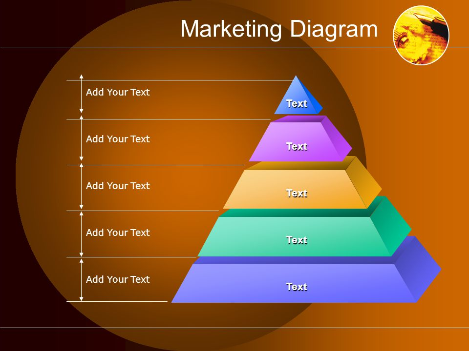 Marketing Diagram Add Your Text Text