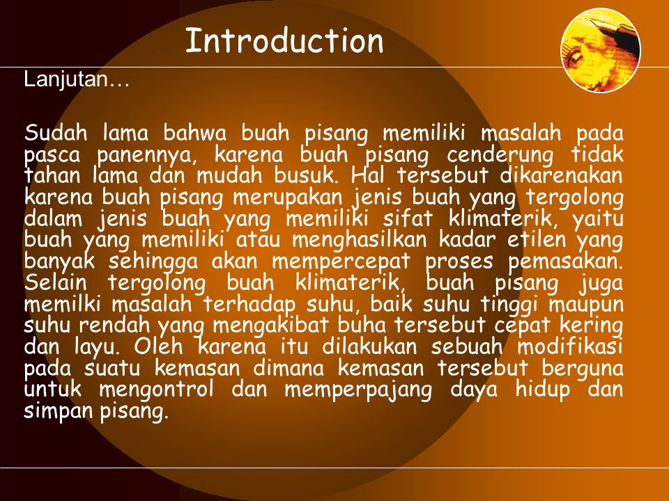 Introduction Lanjutan…