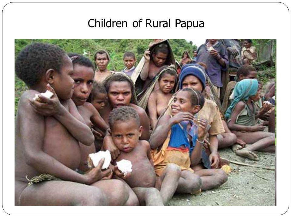 Children of Rural Papua