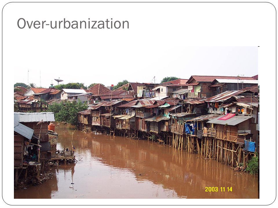 Over-urbanization
