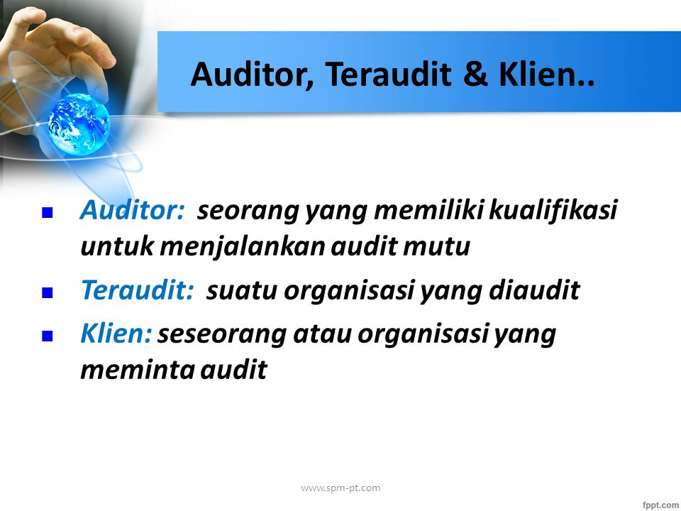 Auditor, Teraudit & Klien..