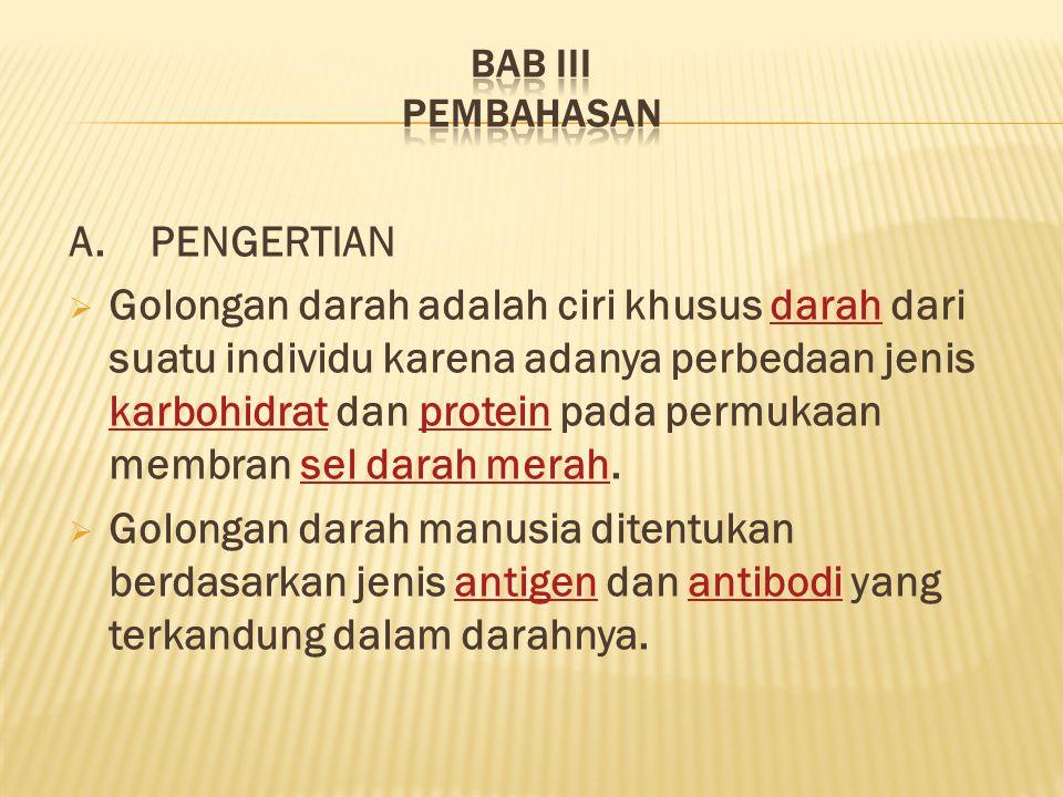 BAB III PEMBAHASAN A. PENGERTIAN.
