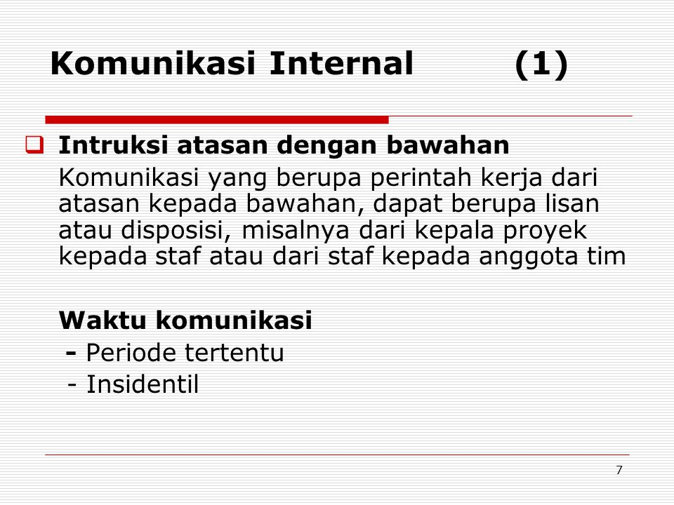Komunikasi Internal (1)