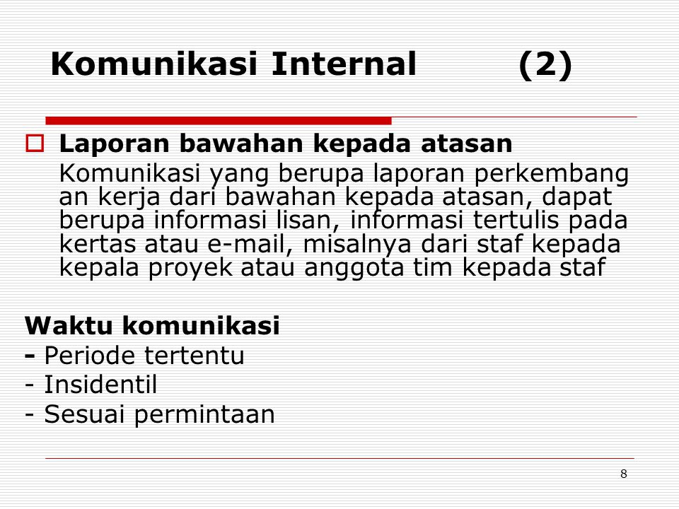 Komunikasi Internal (2)