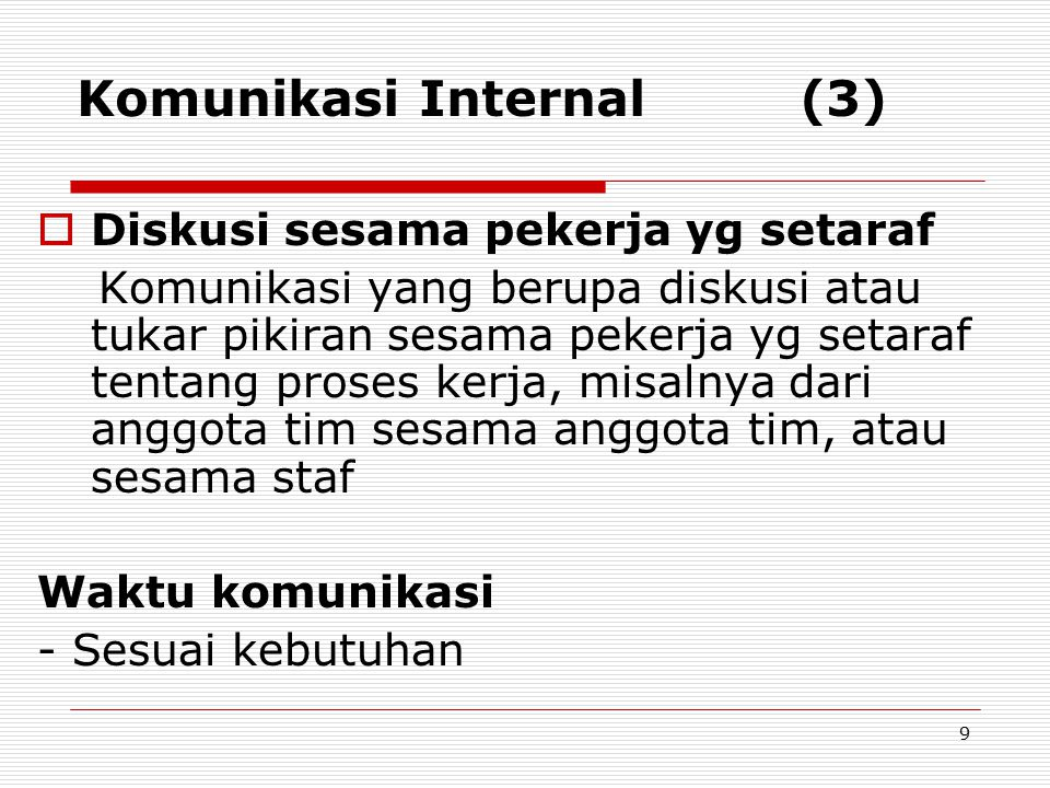 Komunikasi Internal (3)